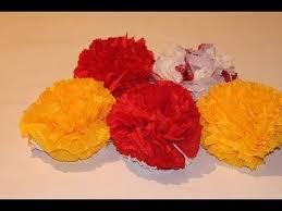Как сделать цветок из <b>салфетки</b> | Бумажный цветок, Бумажные ...