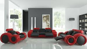 red black cream living