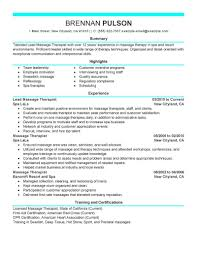 how to make resume for spa therapist   cover letters dochow to make resume for spa therapist massage therapist sample resume cvtips resumelivecareer templates resume template