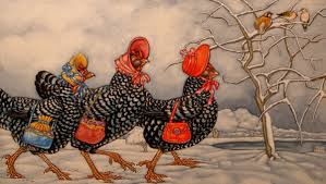 Image result for 3 french hens