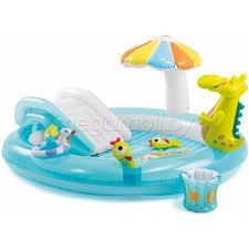 Детский <b>надувной</b> бассейн с <b>горкой</b>. Купить в Минске