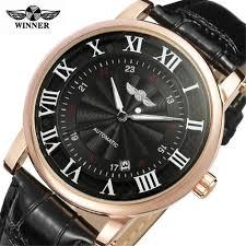 WINNER TM142 <b>Belt</b> Business Casual Calendar Automatic ...
