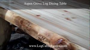 Log Dining Room Tables Cedar Log Dining Table Pcdt01 Cedar Log Dining Room Furniture