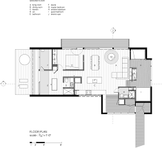 La Luge   A Stunning Winter Cabin Retreat in QuebecLa Luge House by YH Architects   Quebec Canada   Winter Cabin   Floor Plan
