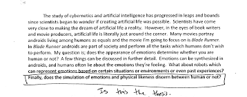 Example Of An Essay With A Thesis Statement How To Write A Thesis Thesis Statement For