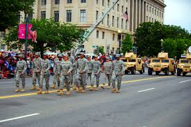 us department of defense photo essay  us soldiers returning from a combat deployment participate in the national memorial day parade in washington