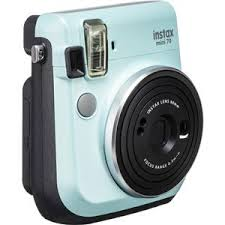 Fujifilm instax <b>mini</b> 70 Instant Film <b>Camera</b>, <b>ICY</b> Mint 16561915