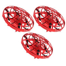 3pc Infrared Sensing Mini <b>UFO</b> Drone <b>Flying Ball</b> Interactive Aircraft ...