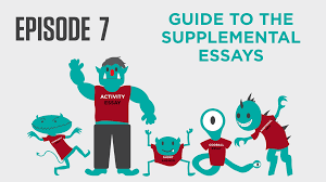 college essay academy a common app essay video course episode 7 guide to the supplemental essays
