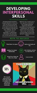 developing interpersonal skills infographic give recruiters the chance to see your amazing interpersonal skills by registering for a project today