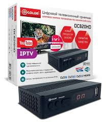 TV-<b>тюнер D</b>-<b>COLOR DC820HD</b> — купить по выгодной цене на ...