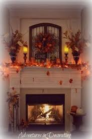fence mantel decor ideas adventures in decorating our fall mantel
