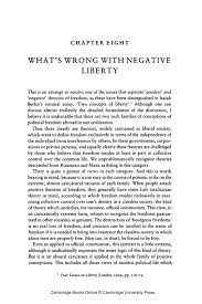 8 what s wrong negative liberty university publishing online what s wrong negative liberty