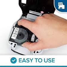label printer tape black on white sticker marker for brother p touch pt 65 pt 70 pt 80 machine ribbon 12mm