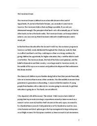 essay american dream  mkoanodnsca the american dream essay i engelsk studienett nothe american dream essay i engelsk
