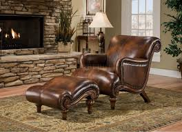Oversized Living Room Furniture Furniture Leather Chair And Ottoman Oversized Leather Chair And