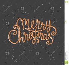 merry christmas greeting card on dark background snow season merry christmas greeting card on dark background snow season vector holiday poster template