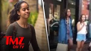Malia Obama: I'm Not A Caged Animal! | TMZ TV - YouTube