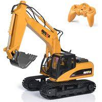 HULNA <b>1:14 Remote Control RC</b> Construction Vehicle Excavator ...