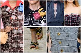 <b>Paris Fashion</b> Week Spring 2020 Trends: All About Buttons ...