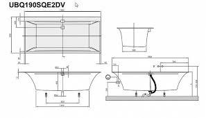 <b>Квариловая ванна Villeroy & Boch Squaro</b> Edge12 190x90 ...