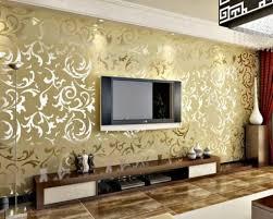 Wallpaper Decoration For Living Room Wallpaper Living Room Ideas For Decorating Modern Living Room