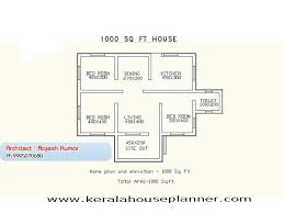 Single Floor House Designs   Kerala House PlannerSmall House Plans in Kerala   Bedroom   sq ft