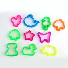 <b>10pcs</b>/<b>set Random Color</b> Plasticine Mold Animal Shape Clay Mould ...
