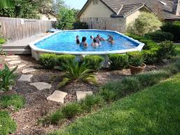landscaping around your above ground pool decorative shrubbery around pool