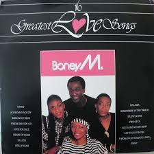 <b>Boney M</b>. - 16 Greatest <b>Love</b> Songs (1985, Vinyl) | Discogs