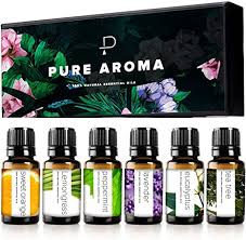 <b>Essential oils</b> by PURE <b>AROMA</b> 100% Pure Therapeutic Grade Oils ...