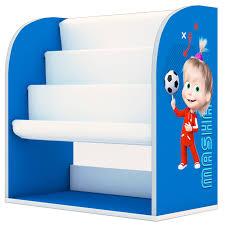 <b>Стеллаж</b> детский книжный <b>Polini kids Fun</b> 800 Маша и Медведь, с ...