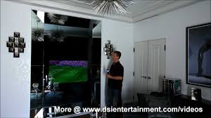 Hide Tv In Wall How To Hide A Tv In Plain Sight Seura Mirror Television Youtube