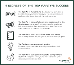 five secrets of the tea party s success institute original institute graphic available under our use policy