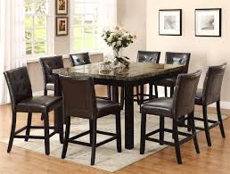 Tall Dining Room Chairs Dining Awesome 8 Chair Dining Room Set For Interior Designing Home