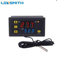 <b>LEDSMITH Digital</b> Thermostat <b>110V 220V</b> Temperature Controller ...