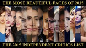 The 100 Most Beautiful Faces of 2015 - YouTube