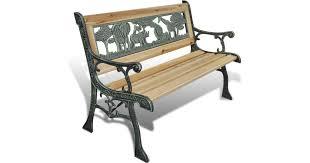 vidaXL 41013 <b>Garden Bench</b> • Find prices (3 stores) at PriceRunner »