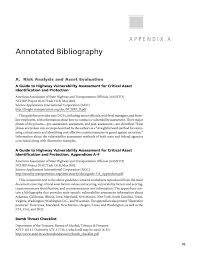 annotated bibliography paper appendix a annotated bibliography security a physical page