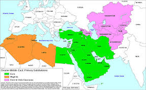 Image result for Greater Middle East MAP