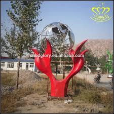 abstract dolphin sculpture home garden decor
