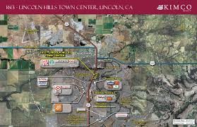 lincoln ca lincoln hills town center retail space kimco realty printable version