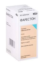 Фарестон таб. 60мг n60 — заказать онлайн и купить ... - Aptekirls.ru