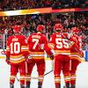 Red Wings vs Flames