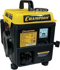 Купить <b>Бензиновый генератор CHAMPION IGG980</b>, 220 В, 1.1кВт ...