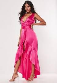 <b>Satin</b> Dresses | Shop Silky Dresses - Missguided