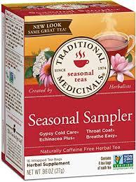 Traditional Medicinals Organic <b>Seasonal Tea</b> Sampler <b>Variety Pack</b> ...
