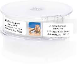 Lamb of Peace <b>Designer</b> Rolled Address Labels with <b>Elegant Plastic</b> ...
