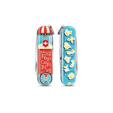 <b>Нож</b> Victorinox <b>Classic</b> LE2019 <b>Let</b> it Pop 58 мм 7 функций (0.6223 ...