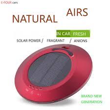 2019 <b>E FOUR Car Air</b> Purifier Solar Power <b>Air</b> Purify Perfume For ...